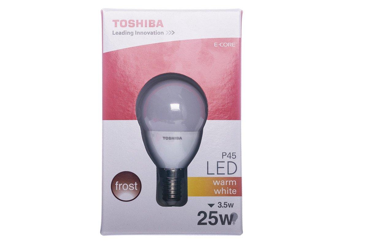 LED Bulb Toshiba 3.5W LDG001D2760-EUC P45 E14