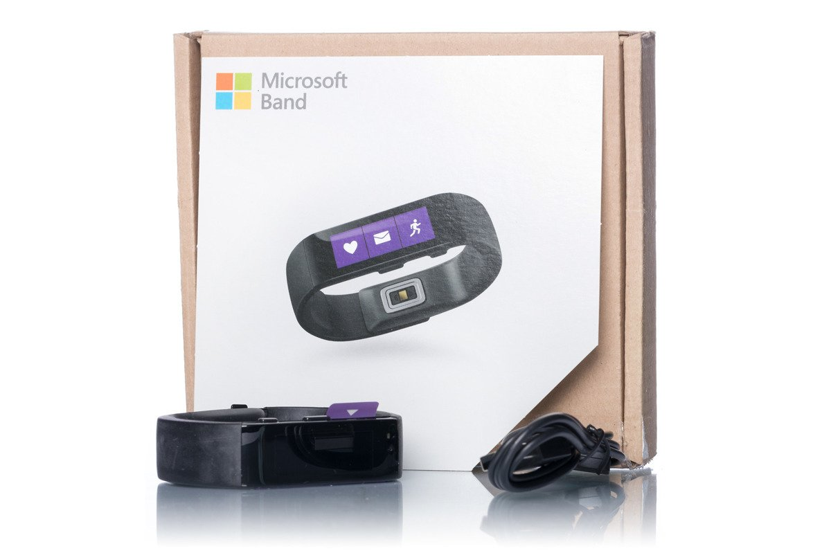 microsoft band activity fitness sleep heart rate tracker smartwatch