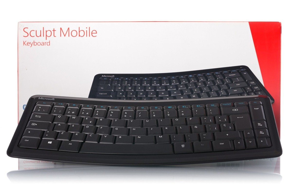 Microsoft Sculpt Mobile (Spanish) Keyboard T9T-00011