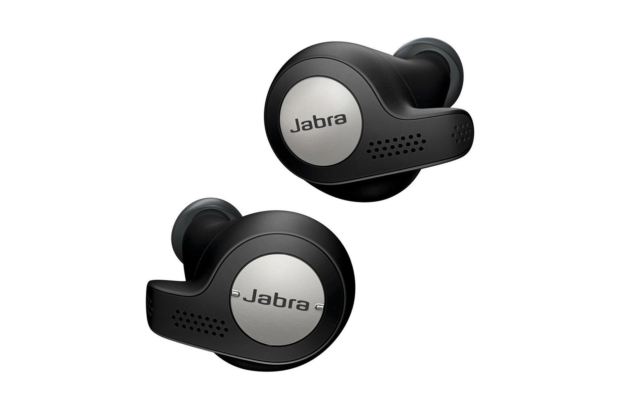 Wireless Headphones Jabra Elite Active 65t Titanium Black IP56