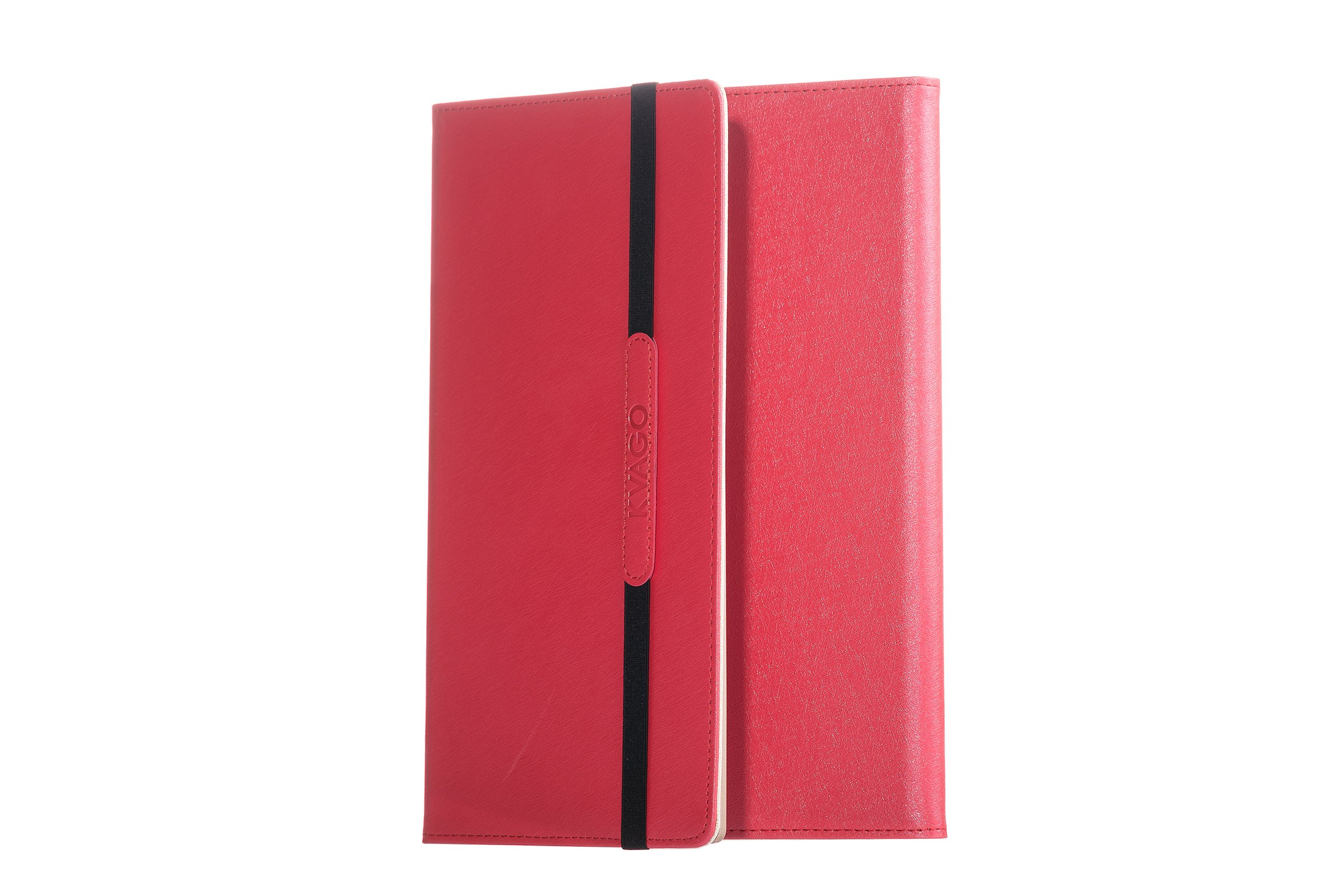 KVAGO IPad Air Case 2 with detachable keyboard Red