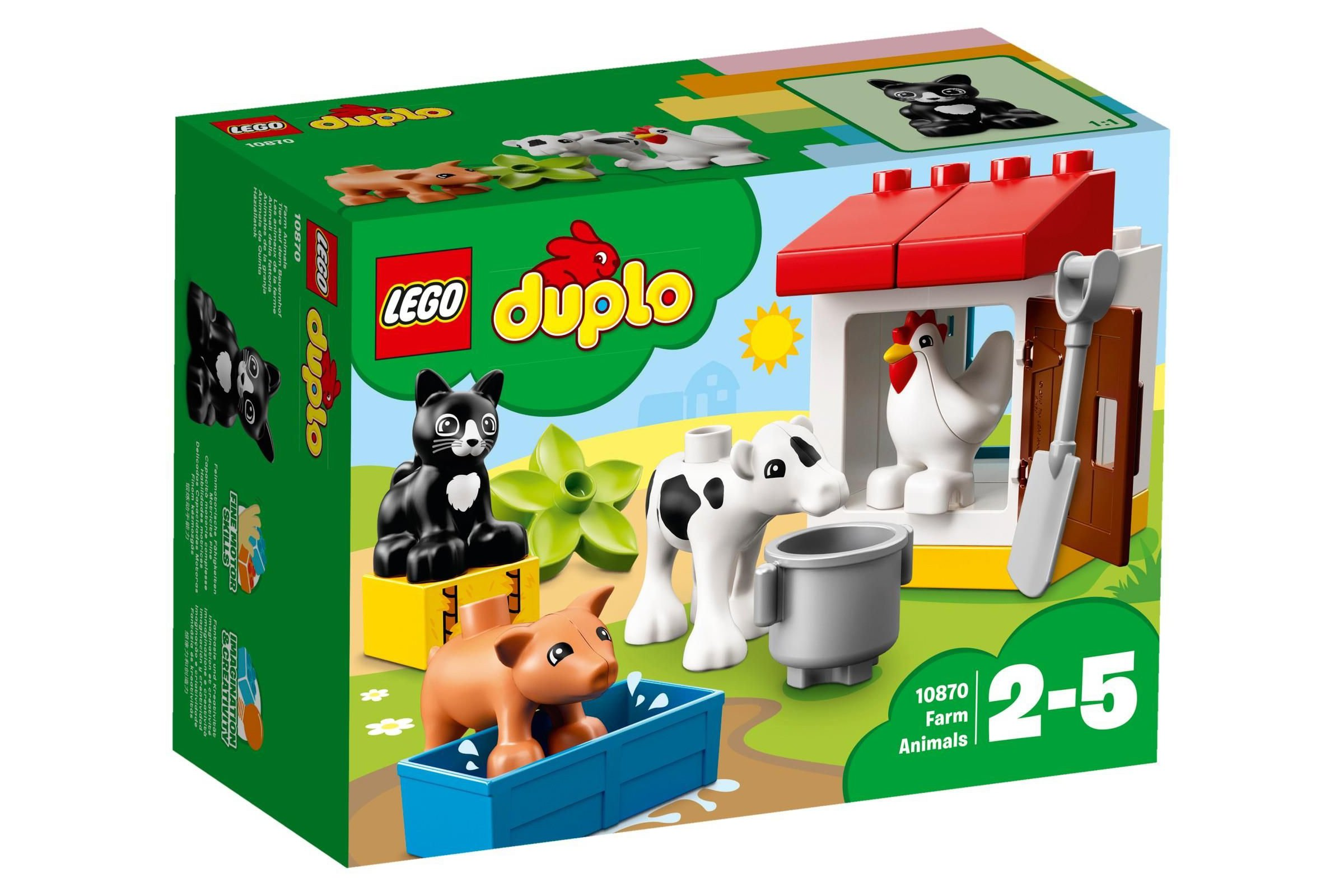Lego Duplo 10870 Farm Animals House And Garden Toys Lego Dropmax