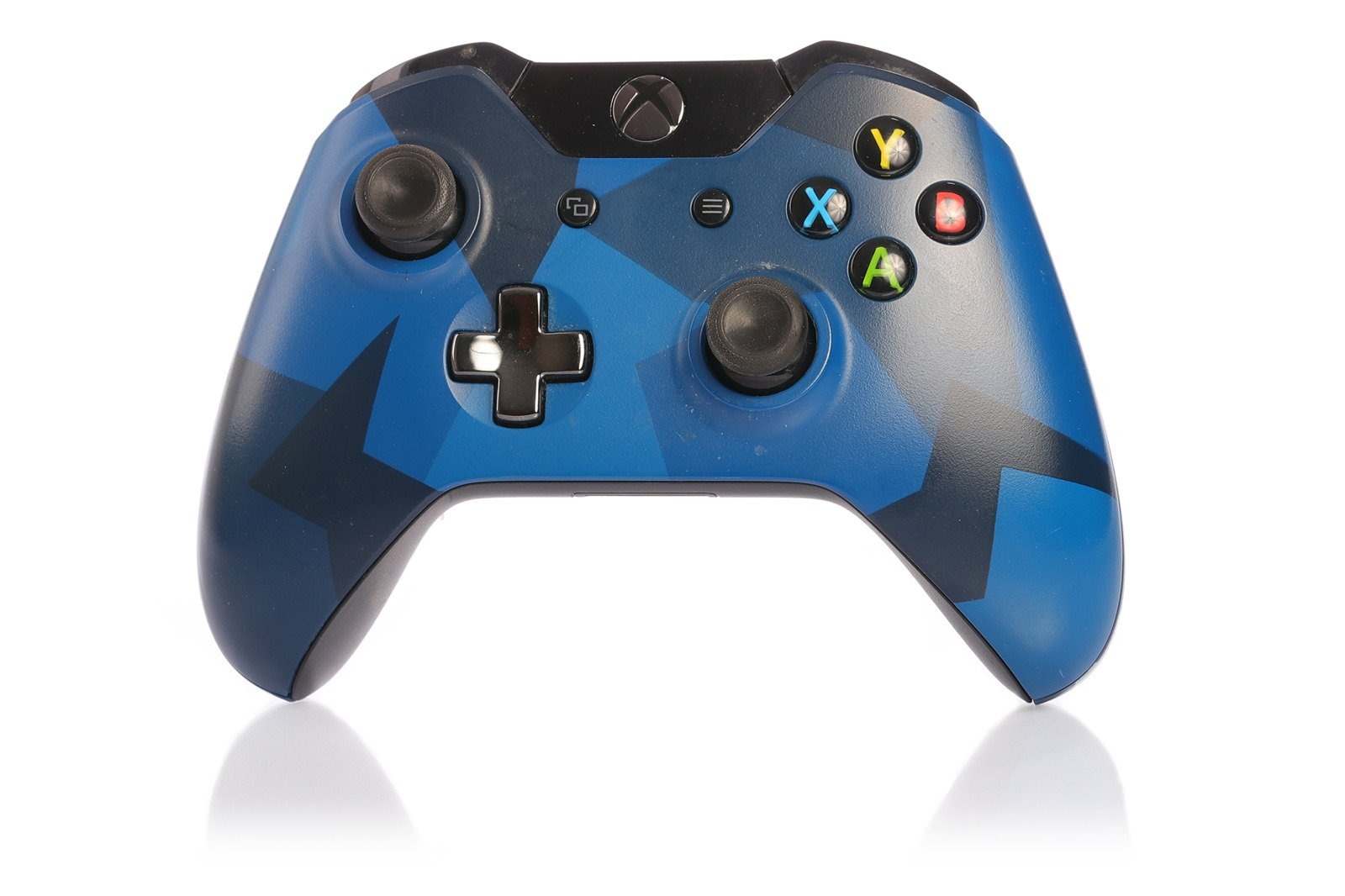 Microsoft Controller Pad Xbox One Midnight Forces Limited Edition ...