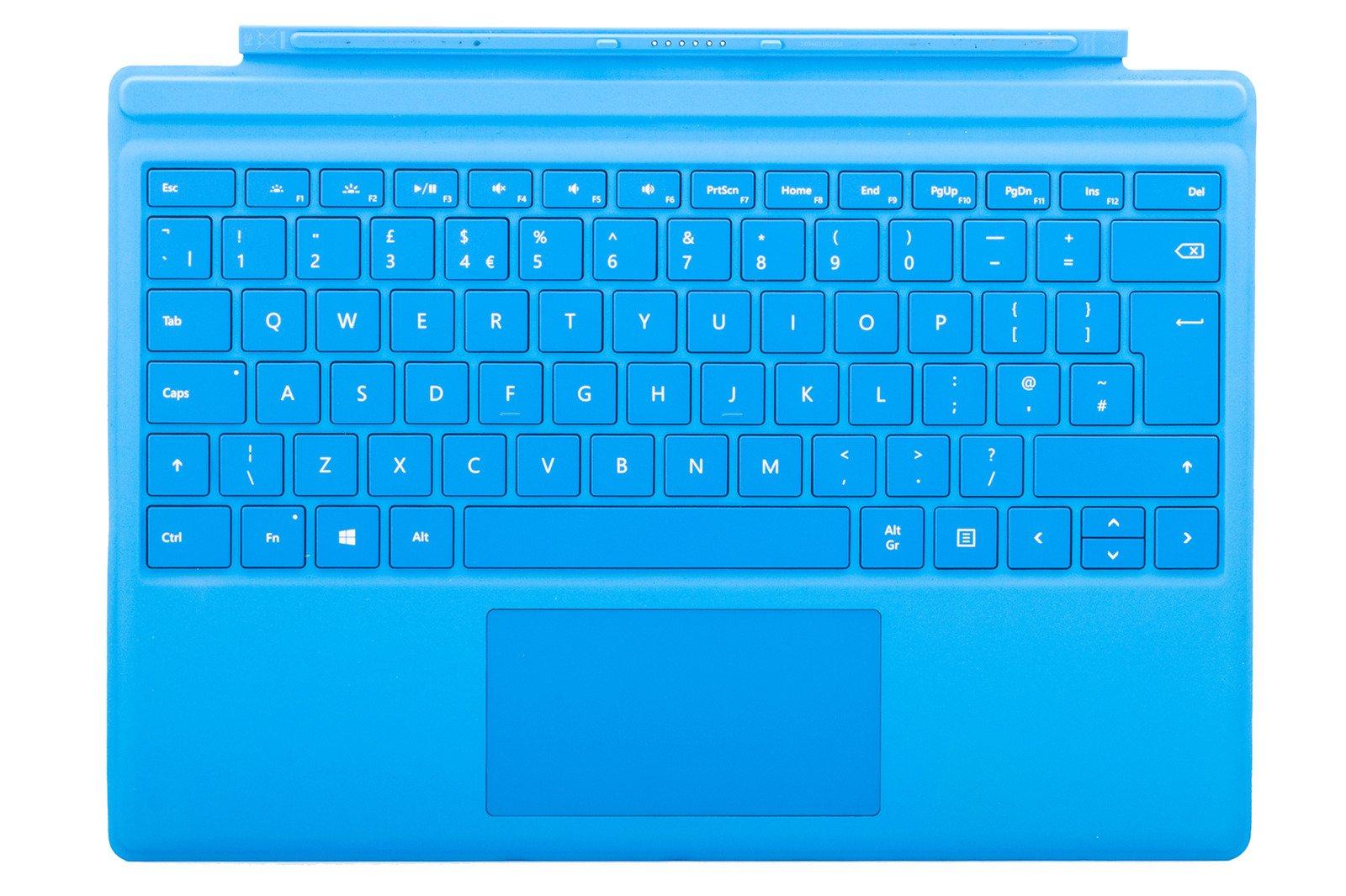 Microsoft Surface Pro 4 Type Cover Cyan (UK) R9Q-00011 grade B