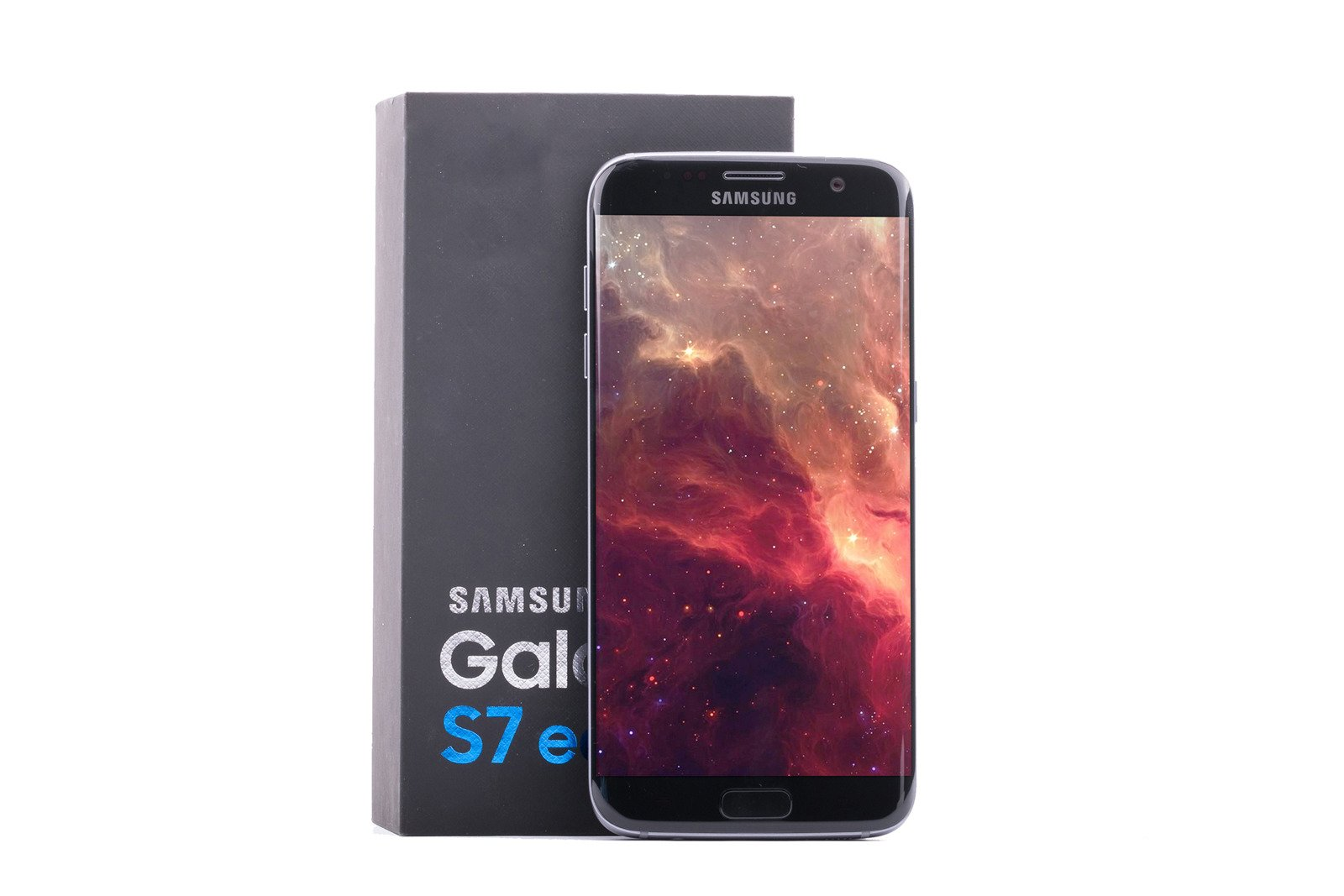 Samsung Galaxy S7 Edge Black Onyx SM-G935F Grade C