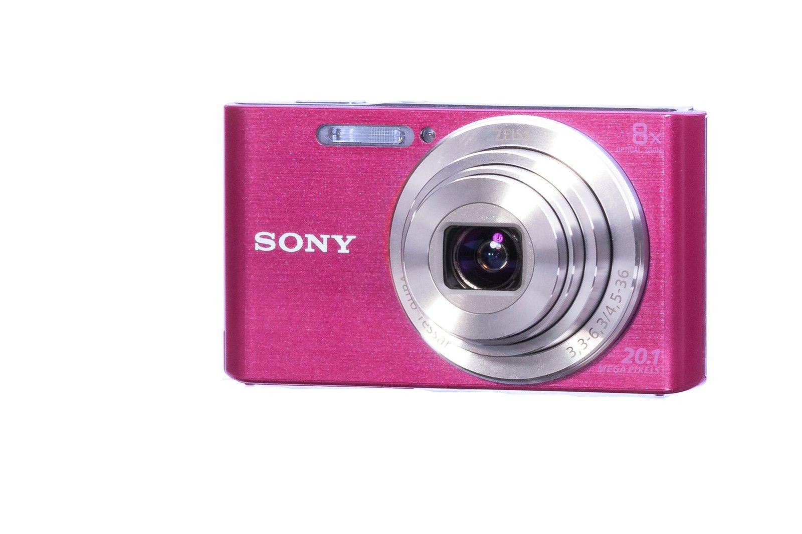 Sony Cyber-shot DSC-W830 Compat Camera 20 1Mpx Zoom 8x Pink Grade B