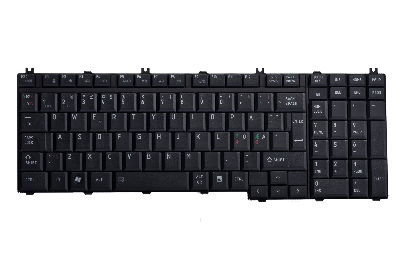 Keyboard MP-06876DN-920 (Nordic)
