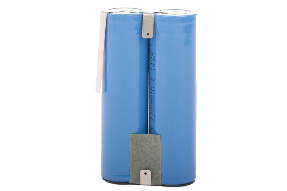 Lithium Ion Battery pack 4400 mAh 2 x 2200 mAh 3.7V akku