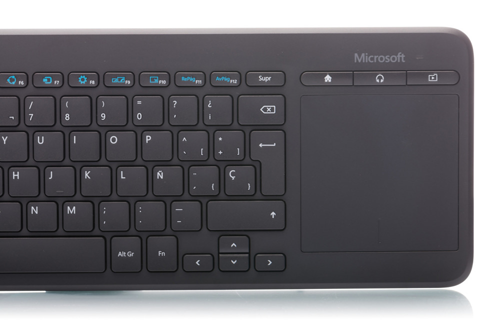 Microsoft All-in-One Media Keyboard (Spanish)