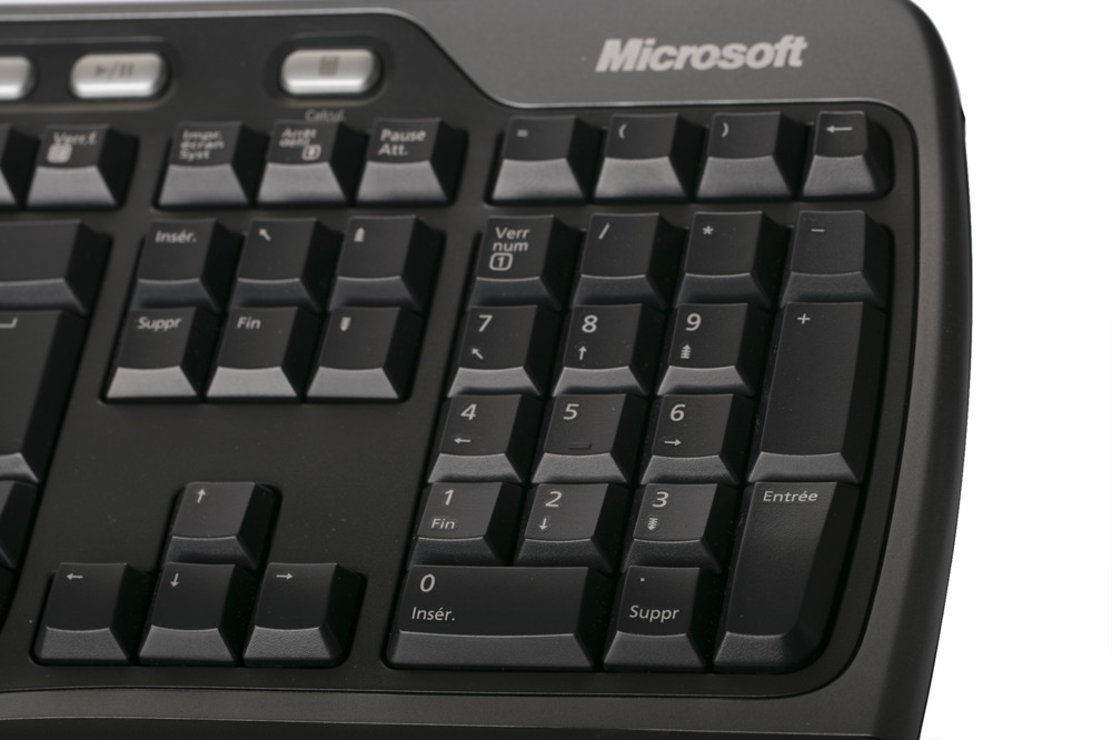 Microsoft Natural Ergonomic Keyboard 4000 (French / Français)