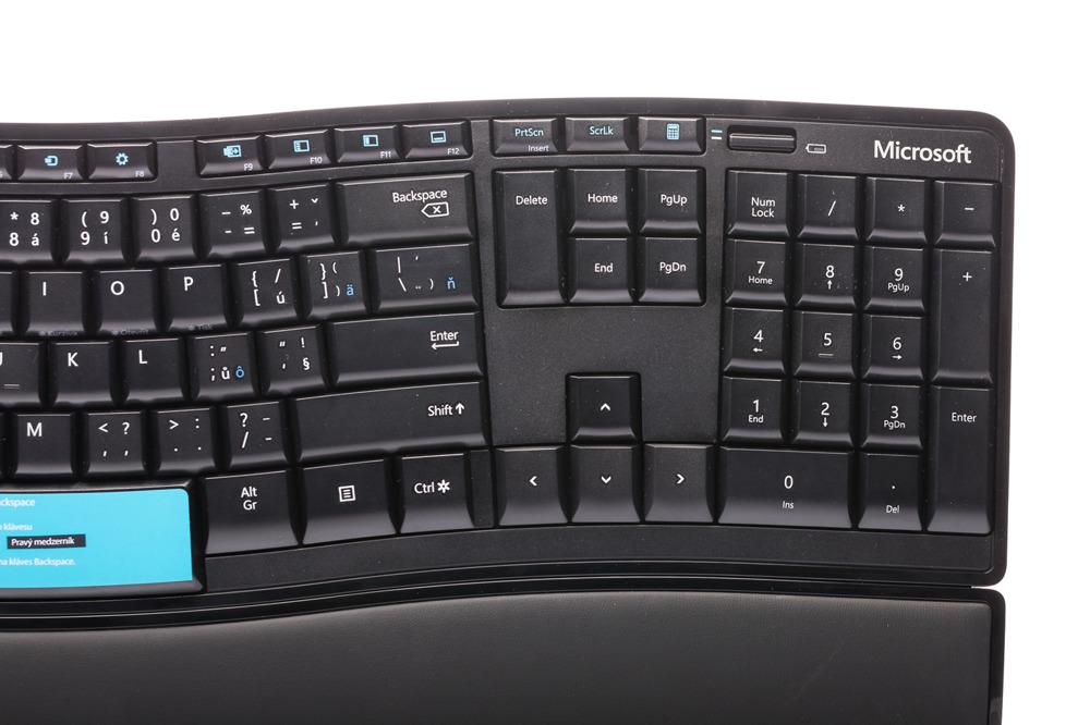 Microsoft Sculpt Comfort Keyboard (Czech)