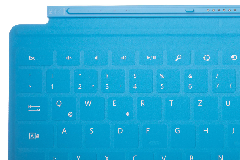 Keyboard Surface Touch Cover 1 Blue Grade A (German)