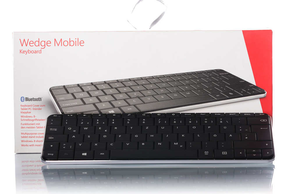 Microsoft Wedge Mobile Keyboard (German / Deutsch)