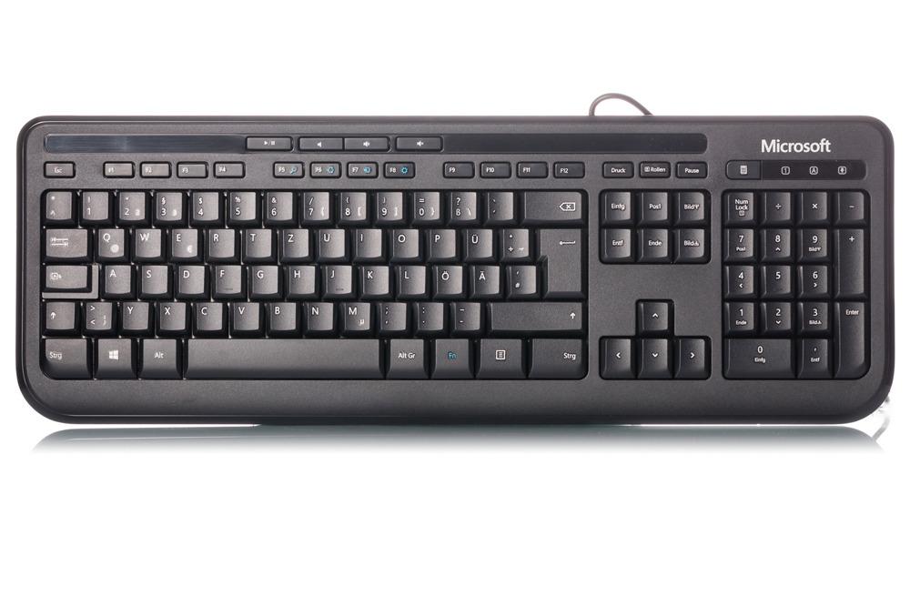 Microsoft Wired Keyboard 600 Black (German / Deutsch)