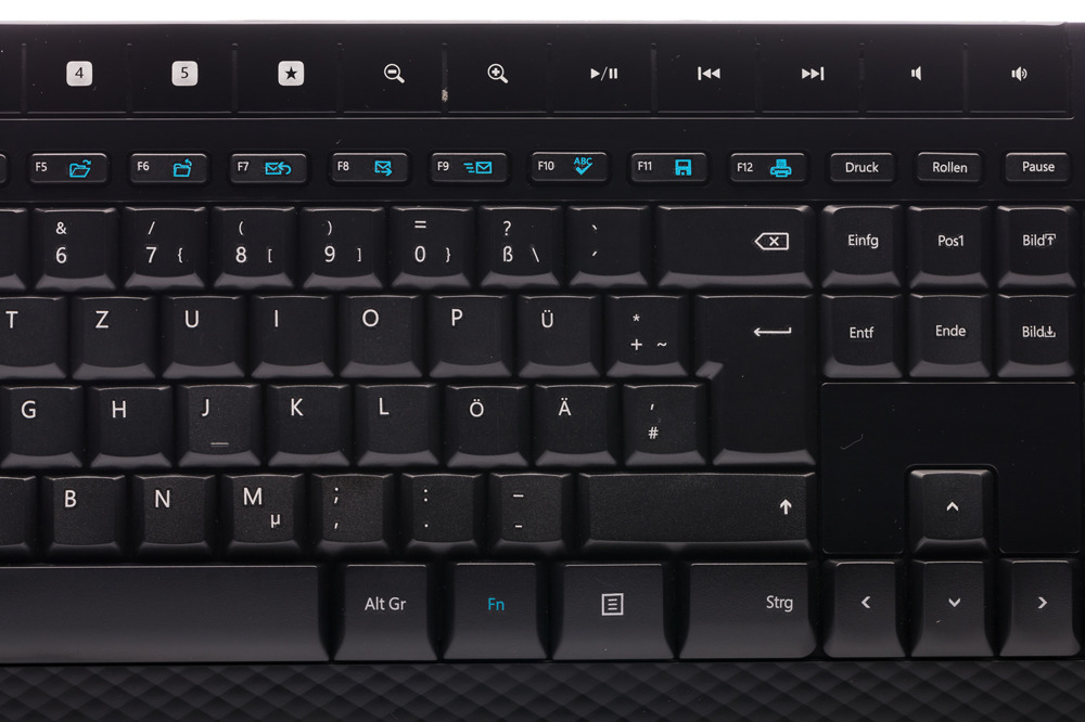 Microsoft Wireless 2000 Desktop (German/Deutsch)