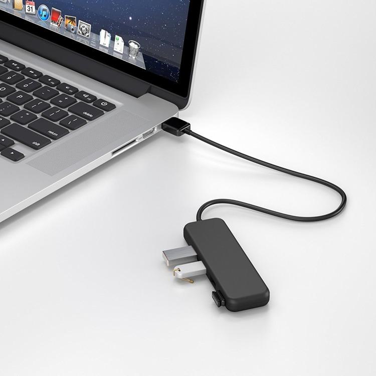 USB HUB KabelDirekt 4-Port 3.0 USB 5 Gbit/s