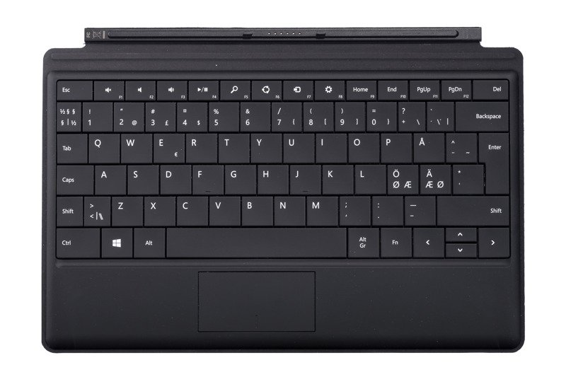 Keyboard Surface Type Cover Black Grade A (Nordic)