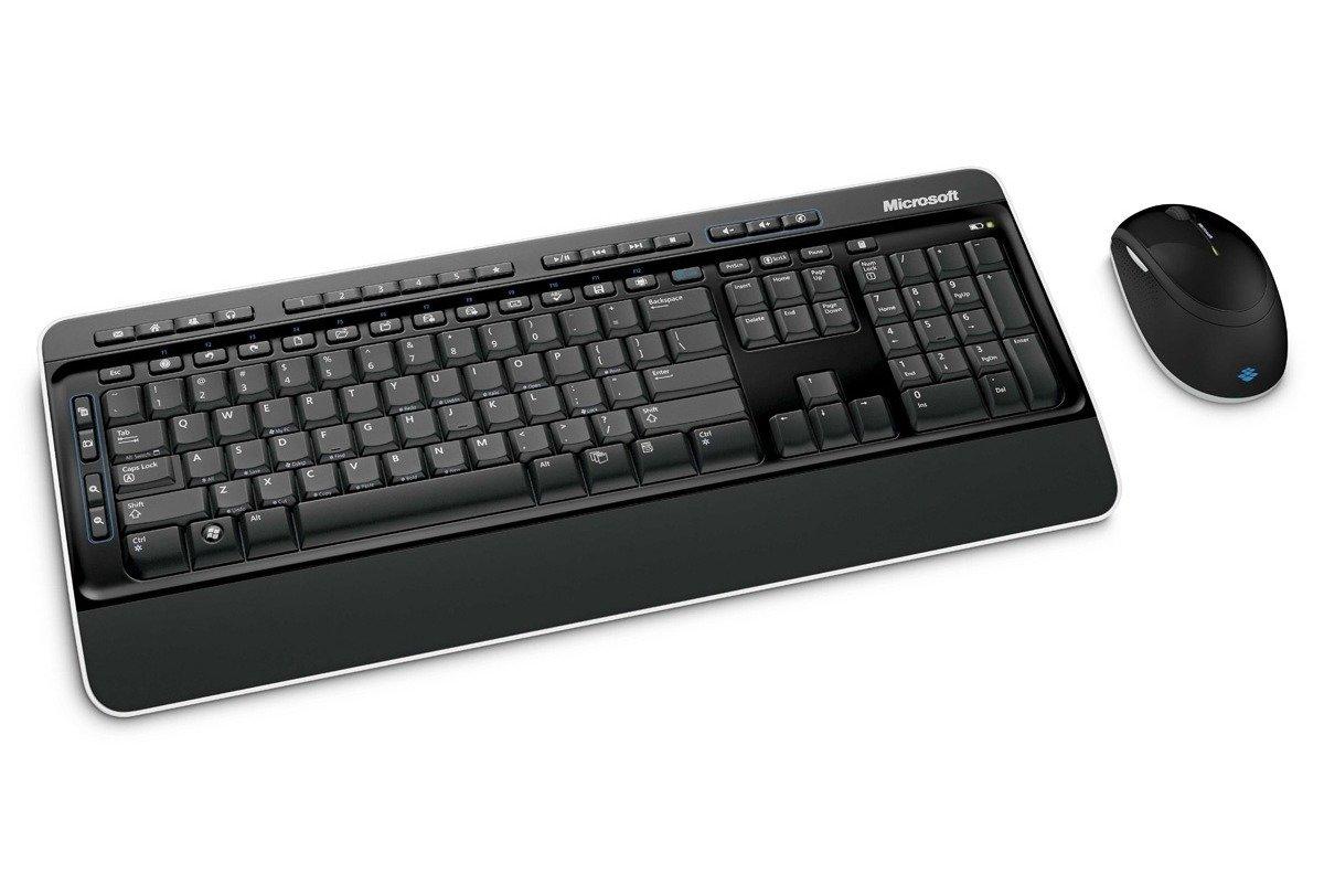 Klawiatura i mysz Microsoft Wireless Desktop 3000 Czarna