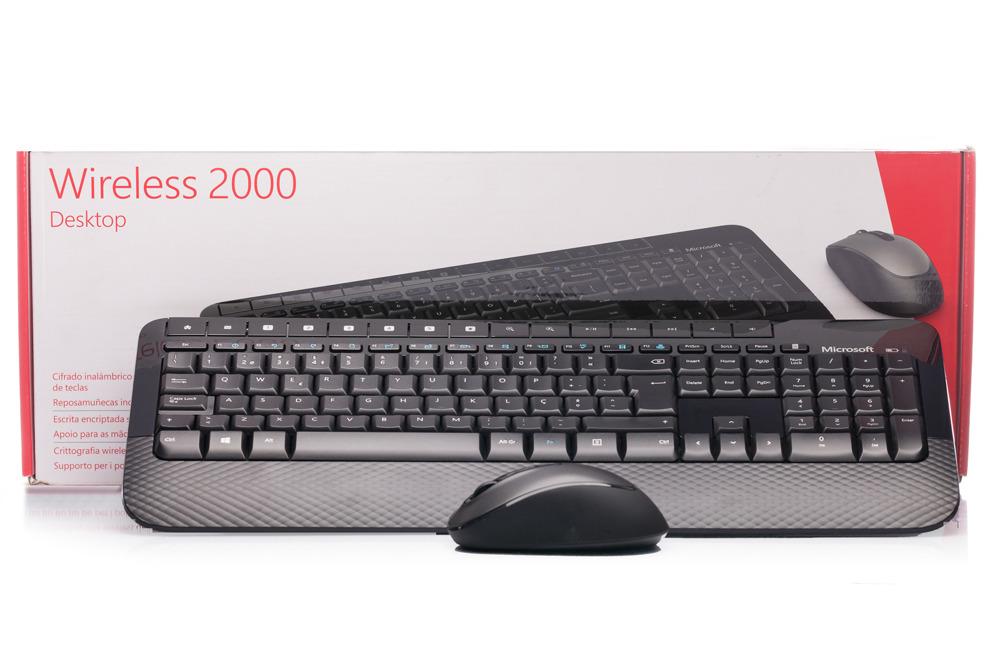 Klawiatura Microsoft Wireless 2000 Desktop (Portugalska)
