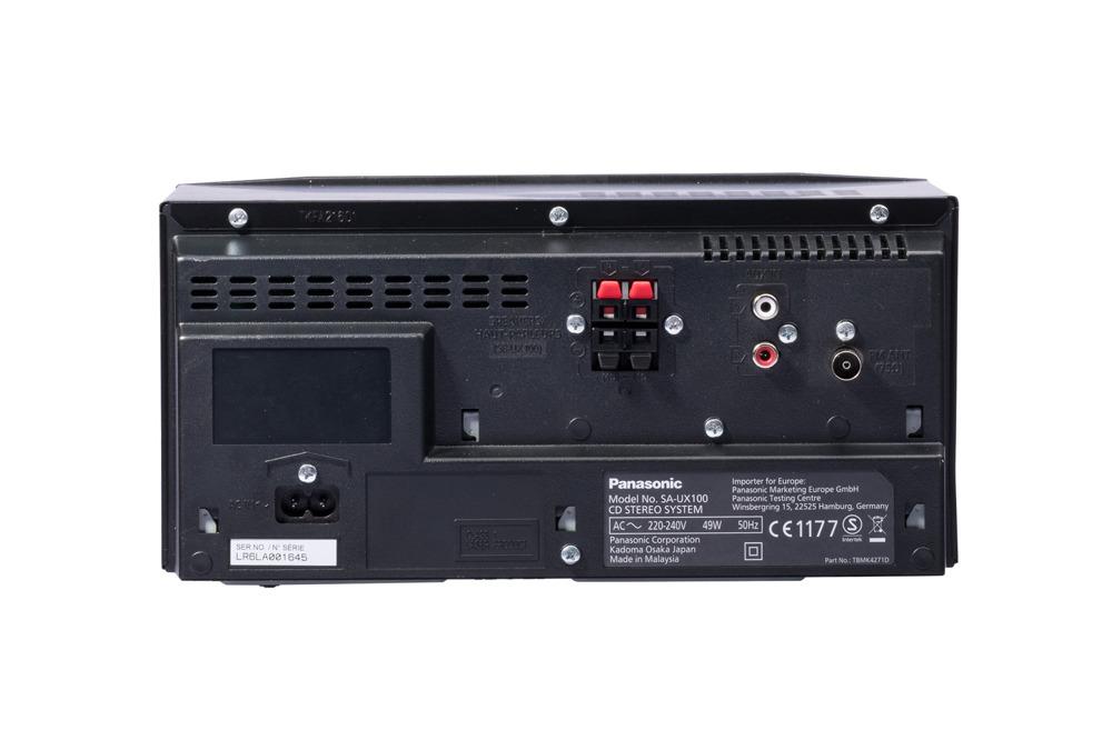 Mini wieża Panasonic SC-UX100 Bluetooth Grade B