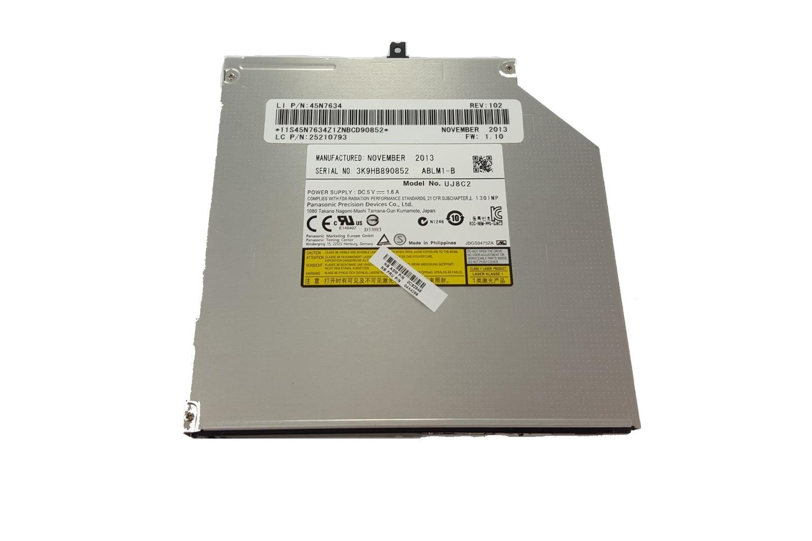 Nagrywarka Laptop CDRW DVD Panasonic UJ8C2