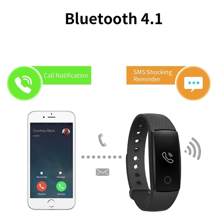 Smartband fitness Riversong Wave HR Android IOS