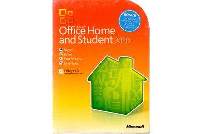 Office Home And Student 2010 32bit/X64 English Non Eu-Efta DVD